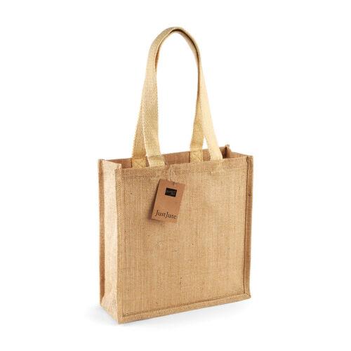 Jute Compact Hessian Reusable Eco Friendly Tote Shopper Grocery Shopping Bag
