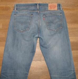""">>> """" Levi `S 504 """" D'Homme Jeans / Levis Blue-Jeans en Bleu En W32 """" / L32 """""""