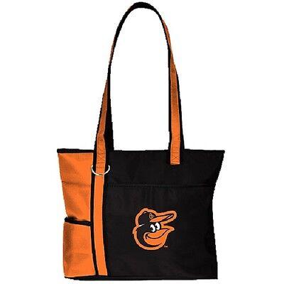 Sport Unparteiisch Neu Mlb Carryall Gametime Einkaufstasche Geldbörse Lizenziert Baltimore Orioles Weitere Ballsportarten