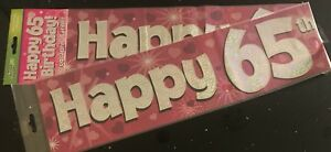 65th-Birthday-Banner-Pink-Sparkly-2-7m-will-split-into-3-65th-Birthday-Party