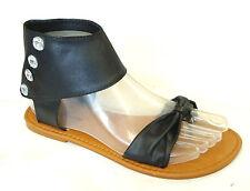 WHOLESALE LOT 12 Pairs Women's ankle T-Strap Gladiator Flat Sandal(8058L-12prs)