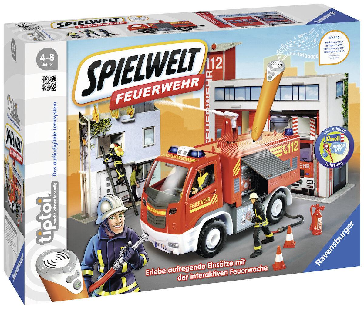 Ravensburger 00824 Tiptoi Tiptoi Tiptoi Spielwelt Feuerwehr,Kinderspiel cdaa52