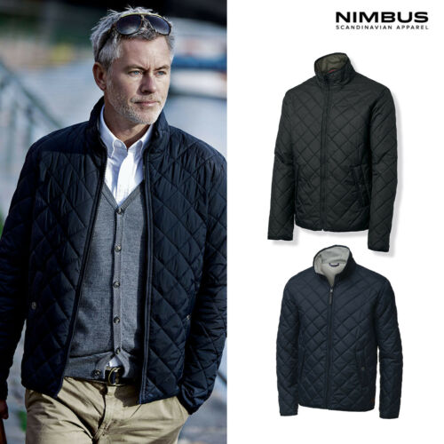 Nimbus Leyland Reversible Full Zip Jacket NB33M Men/'s Quilted Nylon Coat