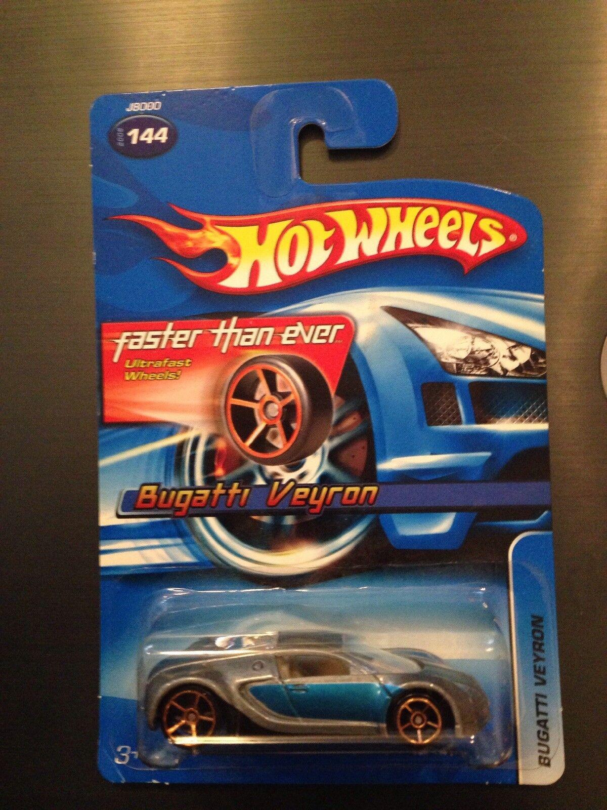 2006 Hot Wheels FTE Bugatti Veyron  144 Faster Than Ever diecast