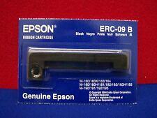 EPSON ERC-09 B BLACK RIBBON CARTRIDGE,NEW IN ORIGINAL PACKAGE