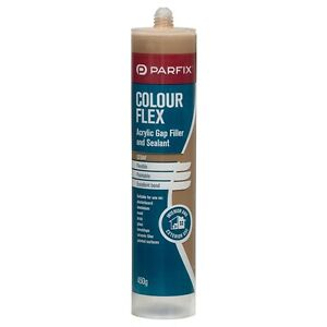 1x parfix cedar wood acrylic gap filler timber sealant - Wood filler or caulk for exterior trim ...
