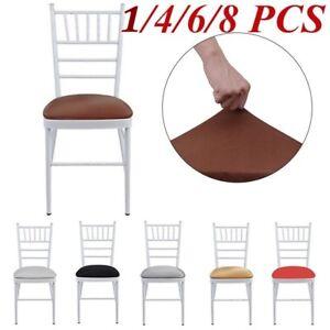 4-6-8pcs-Housse-De-Chaise-Amovible-Elastique-Stretch-Home-Home-Chair-Soft-Cover