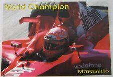 michael shumacher world champions gp montecarlo 2002, f1 ferrari, postcard, new