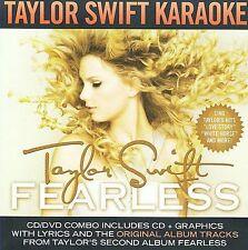 Fearless: Karaoke [CD+G/DVD] by Taylor Swift (CD, Mar-2009, 2 Discs, Big...