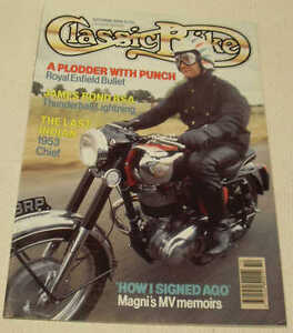 Details about Classic Bike 10/90 Yamaha YDS5, Indian Chief, James Bond BSA  Lightning, Magni
