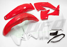 UFO 8 PIECE MX PLASTIC KIT HONDA CR 250 05-07 STD OEM HOKIT103E 3672-280 4632001