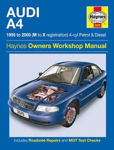 Audi A4 Repair Manual Haynes Manual Service Workshop Manual  2005-2008 4885