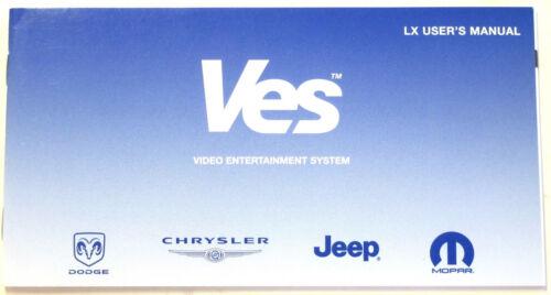 Chrysler *VES User Manual 81-170-06062