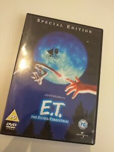 Dvd-E-T-SPECIAL-EDITION-the-extra-terrestrial-spielberg-in-English