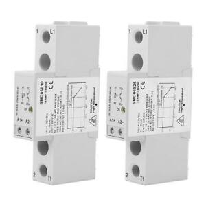 DC-Control-Single-Phase-Solid-State-Relay-SSR-Din-Rail-Heat-Sink-Relay-Module-xi