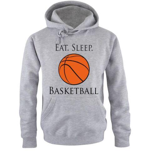 S-XXL colore Div. Sleep Basket Uomo Hoodie-Tg Mi hai interrotto shirts-EAT