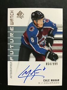 2019-20-SP-Authentic-Cale-Makar-Future-Watch-Auto-Autograph-854-999-Avalanche