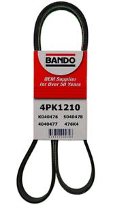 Bando 4PK1210 Serpentine Belt Fit TOYOTA YARIS 2013-2018