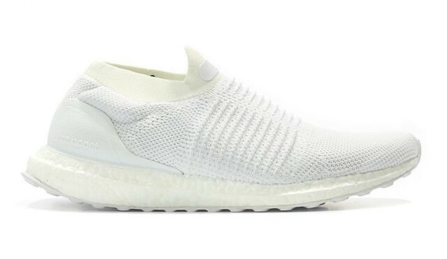 feb61faea4b Mens adidas Ultra Boost Laceless Footwear White Talc S80768 US 10.5 ...