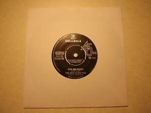 45rpm...The Dave Clarke Five.....Bits And Pieces........60s Beat...Pop..