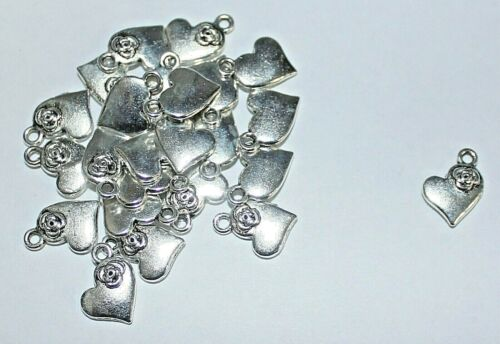 mermaids etc hearts 20 Charms mixed designs available buy 3 get 1 free fish