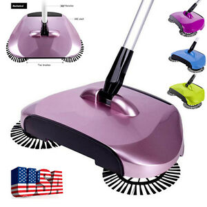 New Arrival 360 Rotary Home Use Magic Manual Telescopic Floor Dust Sweeper USPS