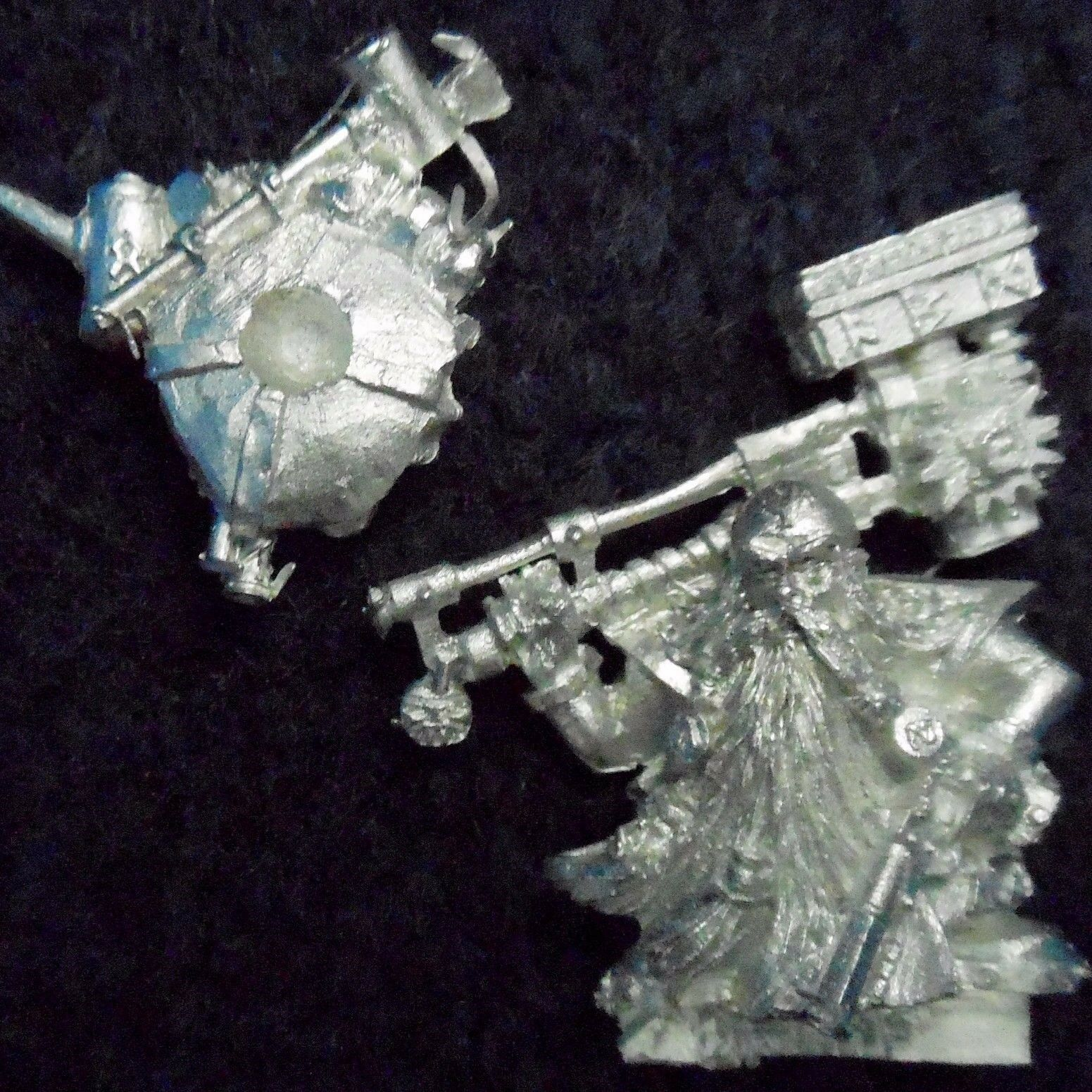 2005 Nano ingegnere Master con gree  Arma giocos lavoronegozio WARHAMMER Esercito Miner  promozioni di sconto
