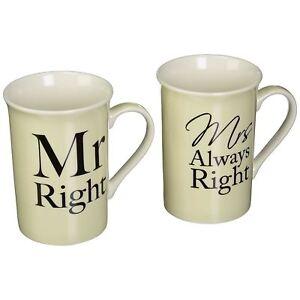 Wedding Anniversary Mugs Set of 2