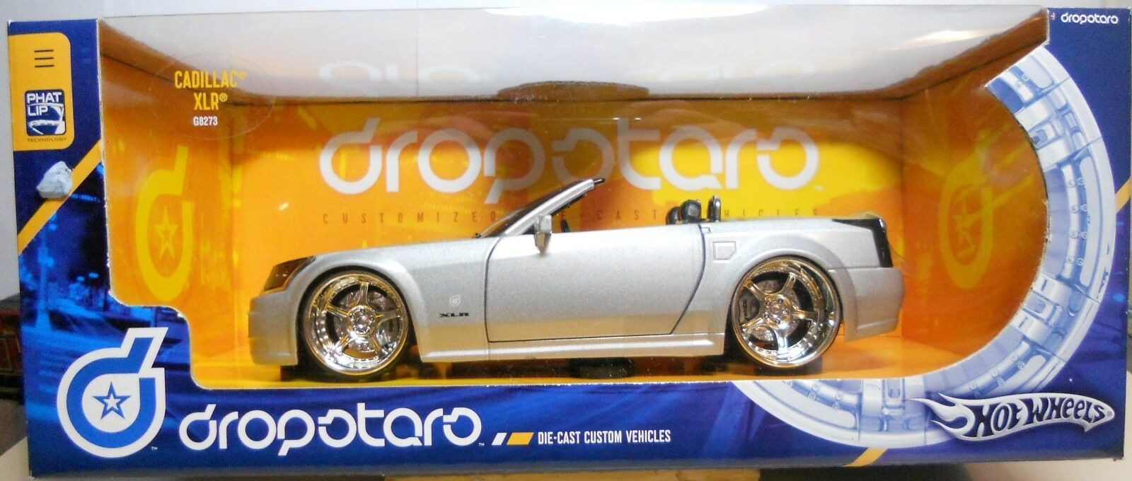 New Hot Wheels 1 18 Scale Die-Cast Dropstar Congreenible Cadillac XLR G8273