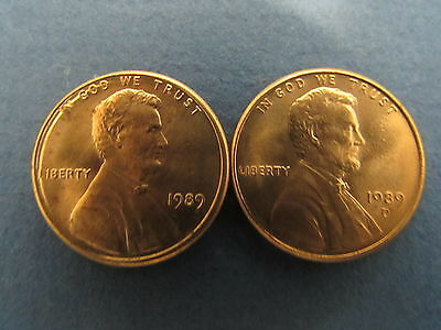 BU ROLL OF 1989-P CENTS