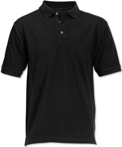 RA 04x noir de haute qualité Workwear Polo Shirt Poly//Coton 220 GSM