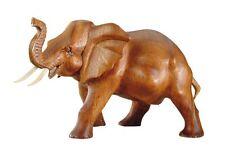 Cosmocolor 50.04.13 Holzfigur Elefant stehend Tropenholz 20x7x16cm Bali geölt