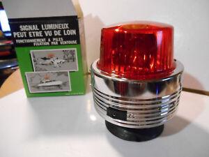 Gyrophare-ancien-oldtimer-Rotating-Beacon-vintage-old-NOS-70-039-s