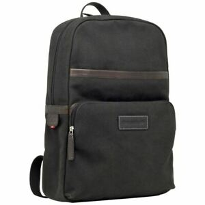 Dbramante-GO-Svendborg-16-039-039-Canvas-Leather-Laptop-Backpack-Rucksack-Bag-Brown