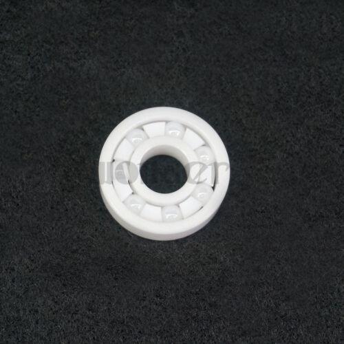 6301 12x37x12mm Zirconia Full Ceramic Open Bearing ZrO/_2 Finger Spinner