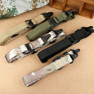Tactical-2-Point-Rifle-Sling-Multi-function-Multimission-Quick-Release-Sling-Hun