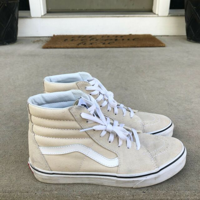 Old Skool Fuzzy off White Suede Shoes