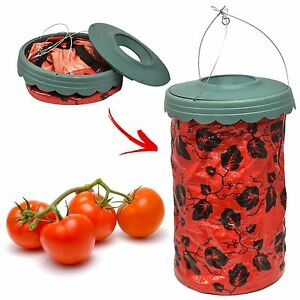 Image Is Loading Upside Down Hanging Tomato Planter Garden Patio Bag