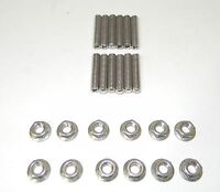 Small Block Chevy Stainless Steel Tri-power Carb Stud Kit