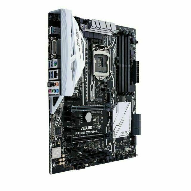 ASUS Prime Z270-A 90MB0RU0-M0EAY0 LGA1151 Z270 DDR4 64GB ATX Intel Optane Gaming