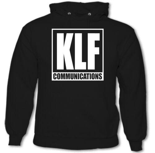 KLF Communications Mens Album Hoodie 90/'s Rave Acid House
