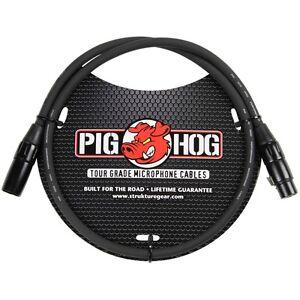 Strukture Pig Hog PHM3 8mm Tour Grade Microphone XLR Cable 3ft