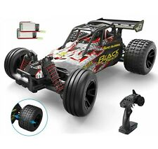 DEERC 9305E RC Cars High Speed 1:18 25+ MPH 4WD Off Road Monster Truck 2 Battery