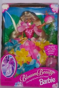Barbie-Vintage-1996-Blossom-Beauty-Doll-with-Magical-Fairy-17032-NFRB-Mattel