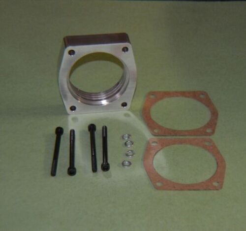 """FITS NISSAN Throttle Body Spacer /"""" HELIX /"""" for 2009-2014 NISSAN MAXIMA 3.5L V6"""
