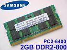2gb Samsung Ddr2 667 MHz Notebook Arbeitsspeicher RAM Pc2-6400s