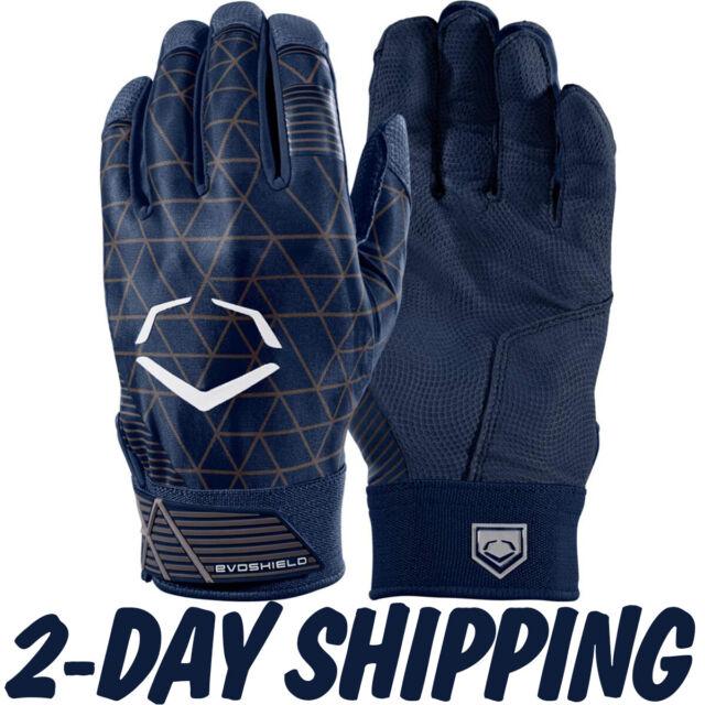 Evoshield Protective Batting Glove Pair Gel to Shell Adult Navy WTV4100NAM