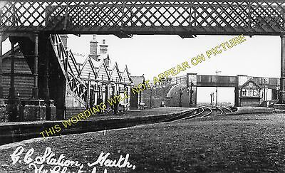5 Pilsley to Grassmoor and Arkwright Heath Railway Station Photo GCR.