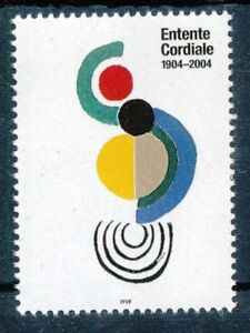 FRANCE-STAMP-TIMBRE-3657a-034-COCCINELLE-DELAUNAY-VARIETE-SANS-GRIS-034-NEUF-xx-LUXE