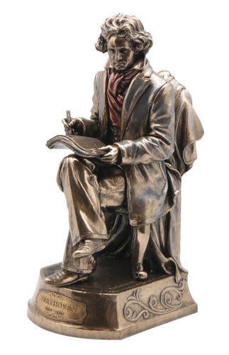Beethoven Winkelhaken Statue Komponist Skulptur Pianist Figur Wohndeko